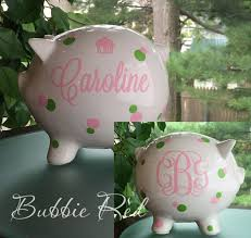 monogram piggy bank the 25 best personalized piggy bank ideas on piggy