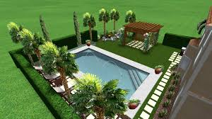 Mediterranean Pool Design - Italian backyard design