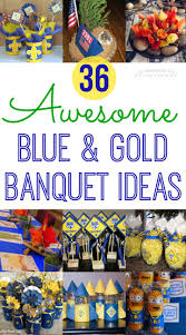 cub scout blue u0026 gold banquet ideas happiness is homemade