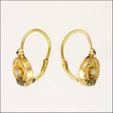 are leverback earrings for pierced ears dainty 18k two tone gold lever back earrings pierced ears