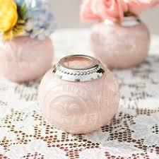 light pink votive candle holders 5 1 2 x 7 11 home decor modern decorative accents kitchen