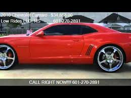 camaro ss2 for sale 2010 chevrolet camaro 2ss coupe for sale in seminary ms 3
