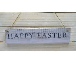 shabby chic sign happy easter hand painted homeware and gifts