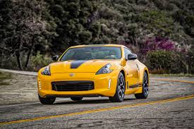 nissan yellow 2018 nissan 370z coupe to start at 30 875 leftlanenews