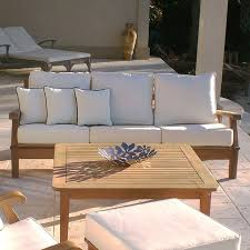 royal teak miami reclining outdoor sofa hayneedle