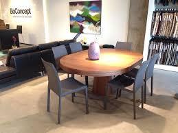 boconcept granada expanding round dining table design dining