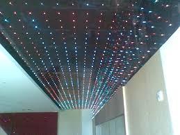 fiber optic star ceiling bedroom home design ideas