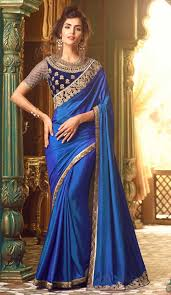 velvet blouse sarees with velvet blouse buy royal blue indian designer saree