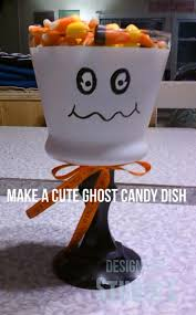 ghost candy dish
