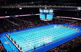 how many swimming laps are in one mile