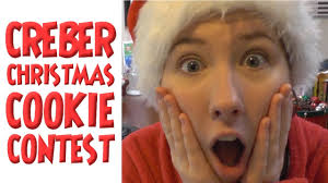 christmas cookie contest michelle creber youtube