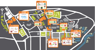 Texas State Campus Map Dine On Campus At Texas State University
