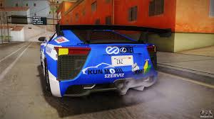 lexus lfa 12 brand new lexus lfa rem the blue of rezero for gta san andreas