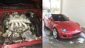 mazda rx mazda rx 8 with 4 5 liter infiniti v8 costs 2 600 autoevolution