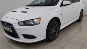 used mitsubishi lancer used mitsubishi lancer 2 0 ralliart gs 5dr automatic youtube