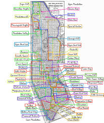 San Francisco Zip Code Map Neighborhood by Favorite Holiday Destinations In New York City Destinations