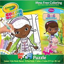 crayola color puzzle doc mcstuffins children u0027s puzzles