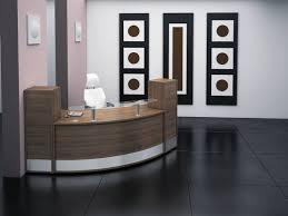 ergonomic reception area interior design for professional office