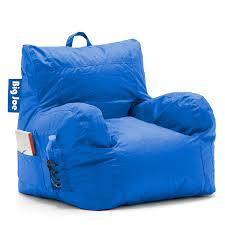 Big Joe Bean Bag Chair Zebra Amazon Com Big Joe Dorm Chair Sapphire Kitchen U0026 Dining