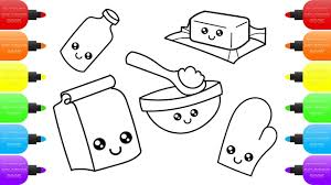 cute kitchen accessories how to draw kitchen set toys for kids