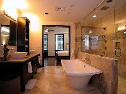 bathroom modern jacuzzi tub design idea in white with towel light