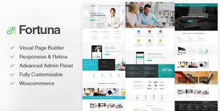 fortuna responsive multi purpose wordpress theme by blueowlcreative