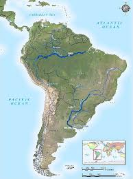 parana river map parana river map