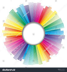 Color Spectrum Vector Color Palette Color Spectrum Stock Vector 102160549