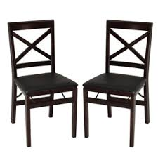 Cosco Folding Table And Chairs Cosco Wood Folding Chairs With Square X Back With Black Seats Set