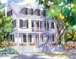 gk houses historic houses of key west artwork by g k salhofer