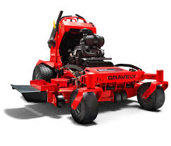 pro stance mower stand on lawn mowers gravely