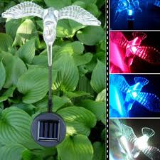 Bird Solar Lights by Led Solar Light Outdoor Dragonfly Butterfly Bird Type Solar Lamp