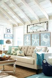 beach theme living rooms from classic beach cottage style to