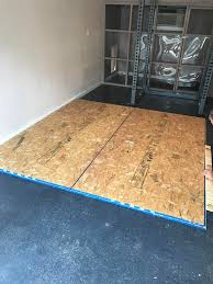 Gym Flooring For Garage by Evolution Of My Garage Gym Album On Imgur
