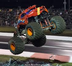 monster truck show nj raceway park crushstation and lumberjack having some summertime fun
