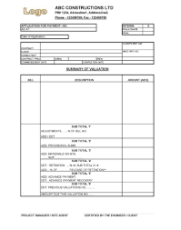 Doc 575709 Simple Vendor Agreement Download Construction Payment Application Template Rabitah Net