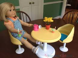 american doll table and chairs julie s table chairs diy version american ideas