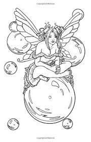 fairy and sprites coloring for stress pinterest sprites and