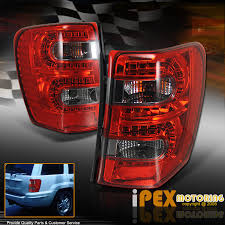 2001 jeep grand cherokee brake light brightest 1999 2004 jeep grand cherokee led red smoked tail lights