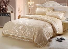 Royal Bedding Sets Royal Yellow Drilled 4 Pieces Comforter Bedding Sets Tidebuy