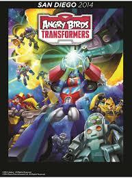 image angry birds transformers comic poster 3 jpg angry