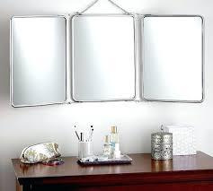 Tri Fold Mirrors Bathroom Tri Fold Dresser Mirror Fold Mirror Fold Mirror Fold Mirror