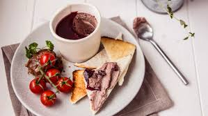 pat e cuisine chicken liver pat and melba toast