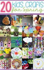 20 kids crafts for spring artsy fartsy mama