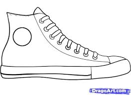 how to draw converse how to draw chuck taylors step by step