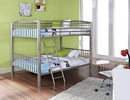 amazon com powell heavy metal black full over full bunk bed