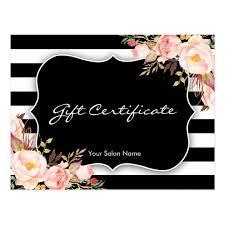 salon gift certificate template eliolera com