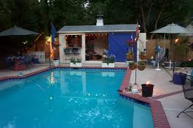 Pool House Cabana by Cheap Backyard Pool Ideas Backyard Landscape Design