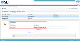Sbi Online Help Desk How To Pay The Emd Amount Through Net Banking For Works Tenders