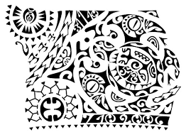 Polynesian Art Designs 52 Best Polynesian Tattoo Designs With Meanings Piercings Models